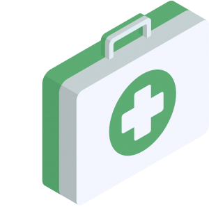 Icon for the health sector