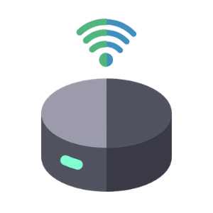 Illustration of a voice assistant