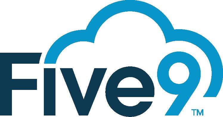 five9 call handling logo