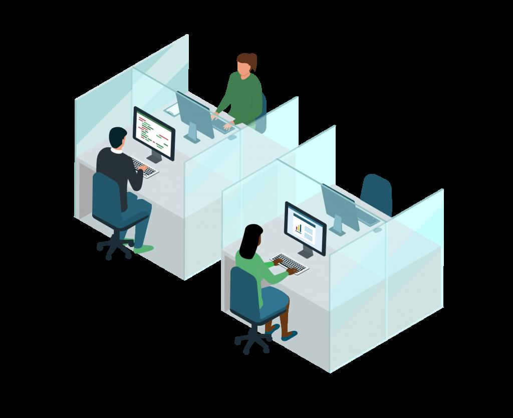 Covid safe workspace